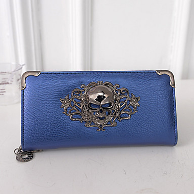 Women Bags PU Clutch Wallet for Event/Party Casual Formal All Seasons Gold Black Silver Fuchsia Blue