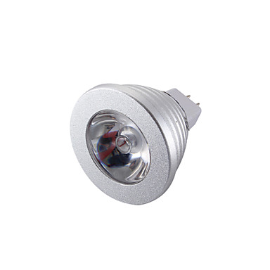 YouOKLight 260 lm GU5.3(MR16) LED Spotlight MR16 1 leds High Power LED Decorative Remote-Controlled RGB DC 12V