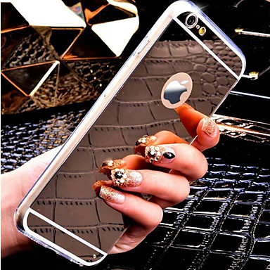 Kompatibilitás iPhone X iPhone 8 iPhone 8 Plus iPhone 6 Plus tokok Hátlap Case Puha Hőre lágyuló poliuretán mert iPhone X iPhone 8 Plus