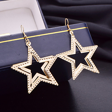 Women's Drop Earrings Alloy Star Jewelry For Wedding Party Daily Casual