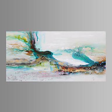 Hang malte oljemaleri Håndmalte - Abstrakt Klassisk / Tradisjonell / Moderne Inkluder indre ramme / Stretched Canvas