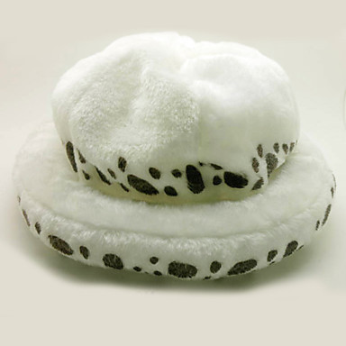 Hat/Cap Inspired by One Piece Trafalgar Law Anime Cosplay Accessories Hat White Polar Fleece Male / Female
