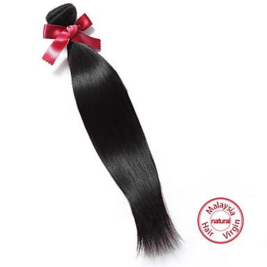 EVET 1Pc Lot 7A Malaysian Virgin Hair Bundles Straight Human Hair Weave Virgin UnprocessedMalaysian Straight Hair