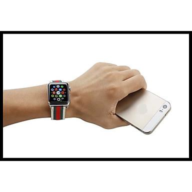 Klokkerem til Apple Watch Series 3 / 2 / 1 Apple Klassisk spenne Nylon Håndleddsrem