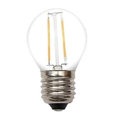 1pc 2W 80-120lm E26 / E27 LED-gloeilampen G45 2 LED-kralen COB Decoratief Warm wit 220-240V