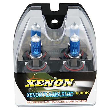 2 9006 HB4 White 6000K Halogen High Low Beam Xenon Headlight Lamp Light Bulbs