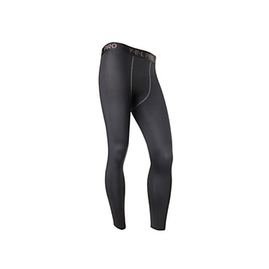 Cycling Base Layer Men's Bike Bottoms Bike Wear Quick Dry Breathable Sweat-wicking Solid Exercise & Fitness Cycling / Bike