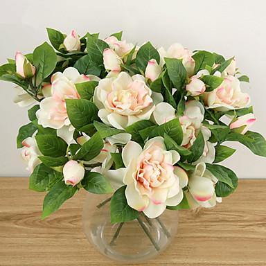 3 Head/Branch Elegant Gardenia  Artificial Flower