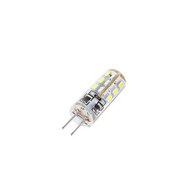 YouOKLight 10pcs 2W 150-200 lm G4 LED Bi-pin Işıklar T 24 led SMD 3014 Dekorotif Sıcak Beyaz Serin Beyaz DC 12V