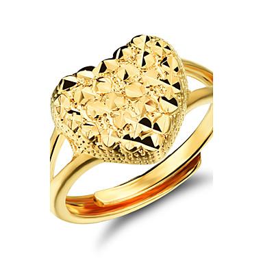 Ms 18 K Gold Heart Ring