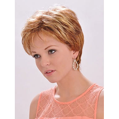 Charming  Ladys'  Short Synthetic Hair Wave Wig