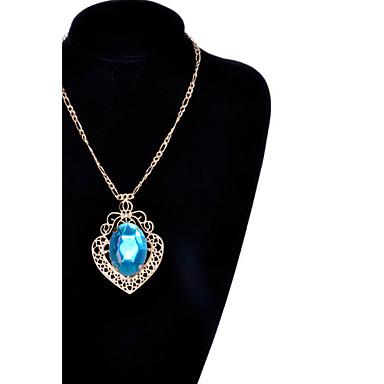 Mulheres Imitações de Diamante Colares com Pendentes - Fashion Cor Ecrã Colar Para Ocasião Especial Aniversário Presente