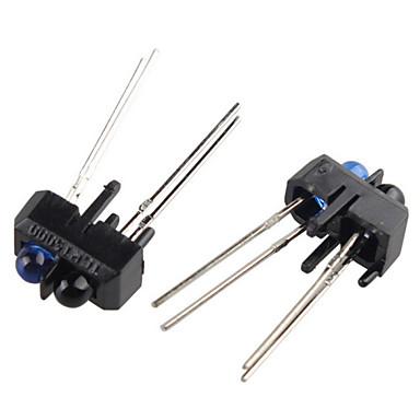 tcrt5000 reflektiv optisk sensor infrarød ir bryter infrarød for Arduino (2 stk)