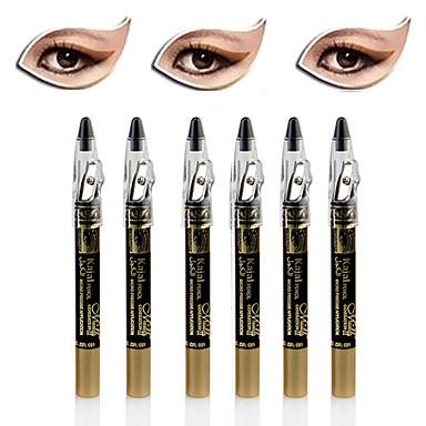 6kpl häikäisevä hohtaa luomiväri kynä& eyeliner setti