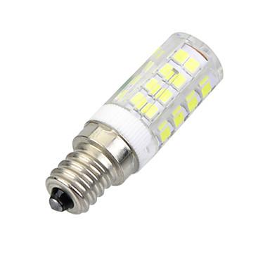 E14 LED Mısır Işıklar B 51 led SMD 2835 Dekorotif Serin Beyaz 400-500lm 6000-6500K AC 220-240V