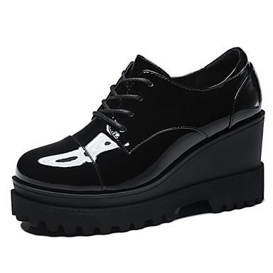 Magassarkú / Tipegő - Talp - Női cipő - Magassarkú - Irodai / Ruha / Alkalmi / Party és Estélyi - Szintetikus - Fekete / Piros