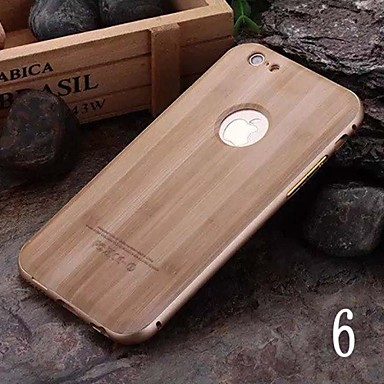 For iPhone X iPhone 8 iPhone 6 iPhone 6 Plus Case Cover Plating Back Cover Case Wood Grain Hard PC for iPhone X iPhone 8 Plus iPhone 8