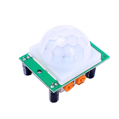 hc-sr501 ir infrarød bevegelsesdeteksjon sensormodul for arduino
