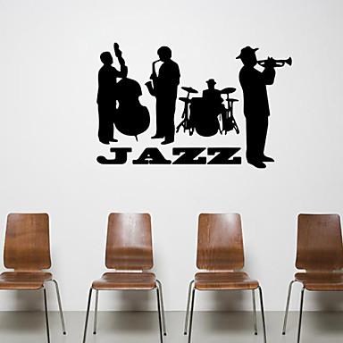 Menschen Formen Musik Wand-Sticker Flugzeug-Wand Sticker Dekorative Wand Sticker, Vinyl Haus Dekoration Wandtattoo Wand