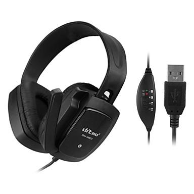 ditmo dm-3800 jó minőségű divat fülhallgató fejhallgató 3,5 mm-es mp3-mp4 telefon pc tablet pc