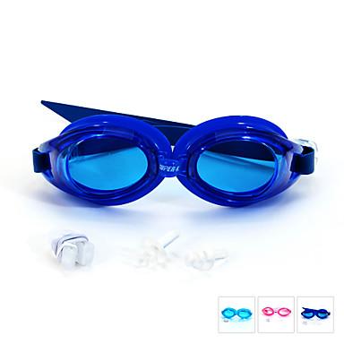 SUPER-K Úszás Goggles Páramentesítő Vízálló Állítható méret Szilícium-dioxid gél PC Rózsaszín Kék Világoskék Rózsaszín Kék Világoskék