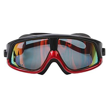 SUPER-K Úszás Goggles Páramentesítő Vízálló Állítható méret Polarizált lencse Szilícium-dioxid gél PC polarizált Piros Szürke Kék Others