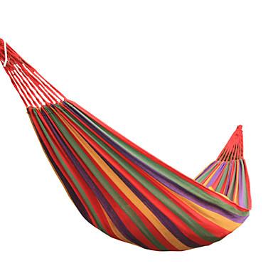 Kamp Yamaçları / Bebek Yatakları ve Hamaklar Açık hava Ultra Hafif (UL), Hava Alan Tuval için Yürüyüş / Kumsal / Kamp - 1 Kişi Kırmzı /