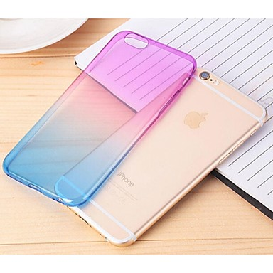 Gradually Changing Color Back Cover for iPhone 6S/6 (Assorted Colors)
