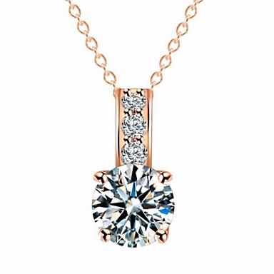 Designer Jewelry Zircon Pendant Necklace Satement Necklace