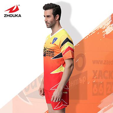 5f18aaf09f0 ZHOUKA® Customized/Personalized Custom (Word + Number) Soccer Kit Football  Jersey Sportswear