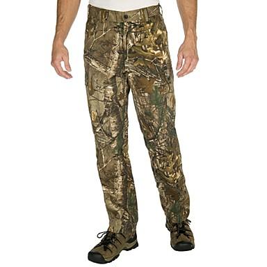 Calça Camuflada de Caçador Homens Respirável Clássico / Moderno / camuflagem Conjuntos de Roupas para Caça / Pesca