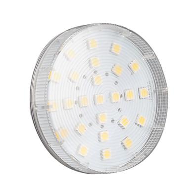 1pc 3.5 W 200LM LED Σποτάκια 25 LED χάντρες SMD 5050 Θερμό Λευκό / Ψυχρό Λευκό / Φυσικό Λευκό 220-240 V