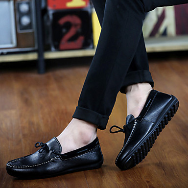 Men's Shoes Casual Loafers Black / Navy / Khaki