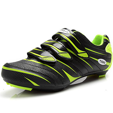 Men's Net / PU(Polyurethane) Fall / Winter Comfort Athletic Shoes Cycling Shoes Red / Green