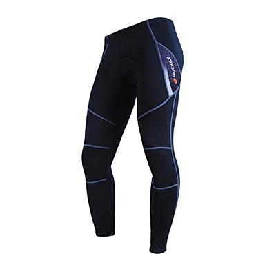 Nuckily Unisex Bisiklet Pantalonlar Alt GiyimlerNefes Alabilir Sıcak Tutma Rüzgar Geçirmez Anatomik Tasarım Polar Astarlı Yalıtımlı