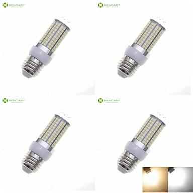 SENCART 8W 3000-3500/6000-6500lm E14 / G9 / GU10 LED Mısır Işıklar Gömme Uyumlu 180 LED Boncuklar SMD 2835 Su Geçirmez / Dekorotif Sıcak