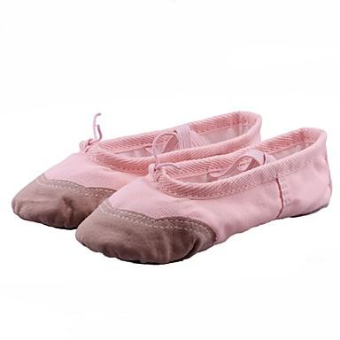 les enfants débutants plat ballet toile rendeHommes t noir pratique croûton en noir t et blanc Rouge  rose non personnalisables beige ea2b4d