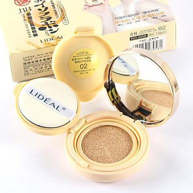 New Makeup Concealer Convenient Moisturized Whitening Cushion BB Cream 13g*2 1Pc (1 Backup)