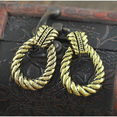 Női Fülbevaló Díszgomb fülbevalók Ötvözet Nem kő