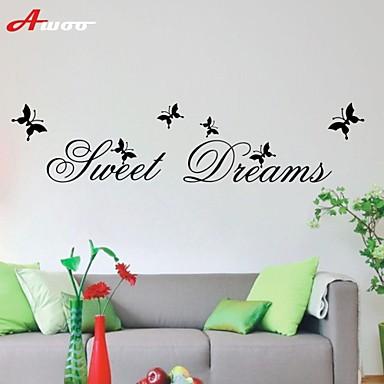 AWOO® New Pattern Sweet Dreams Wall Sticker Group On Behalf Of English customization