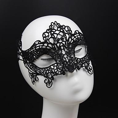 Kadın's Vintage Zarif Dantel Maske