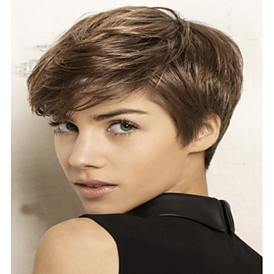 Synthetic Hair Wigs Wavy Capless Short