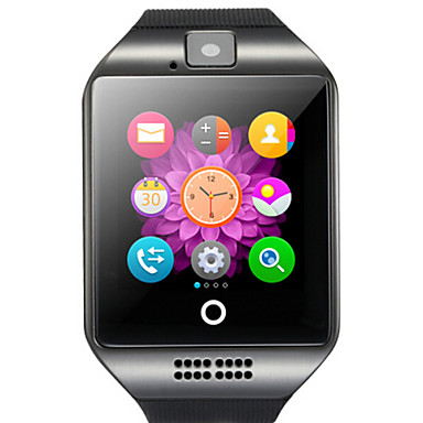 cheap Smartwatches-Q18 Smartwatch Android Bluetooth USB Touch Screen Calories Burned Hands-Free Calls Camera Timer Call Reminder Activity Tracker Sleep Tracker Sedentary Reminder / Find My Device / Alarm Clock
