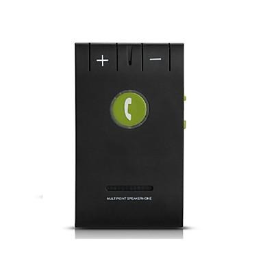 Bluetooth 4.0 autojen kaiutin kaiutinpuhelin handsfree yleispalvelun musta