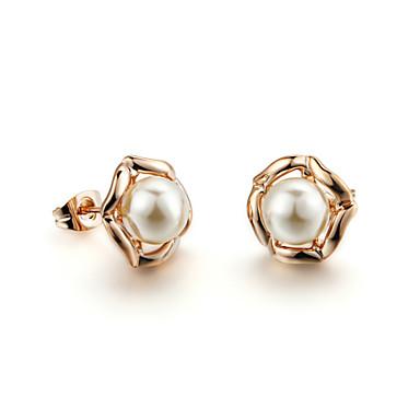 Damen Perle Ohrstecker - Perle Künstliche Perle Kubikzirkonia damas Simple Style Schmuck Für