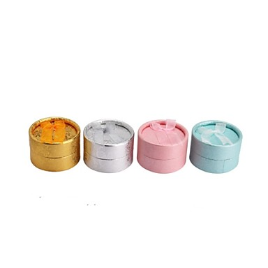 Paper Round Ring/earrings Jewelry/Gift Packing Box Fit Brithday/Wedding Decoration Fashion Jewelry Box