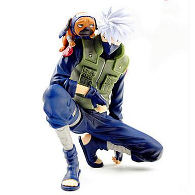 Anime Action Figurer Inspirert av Naruto Hatake Kakashi PVC 14 cm CM Modell Leker Dukke Herre Gutt Jente