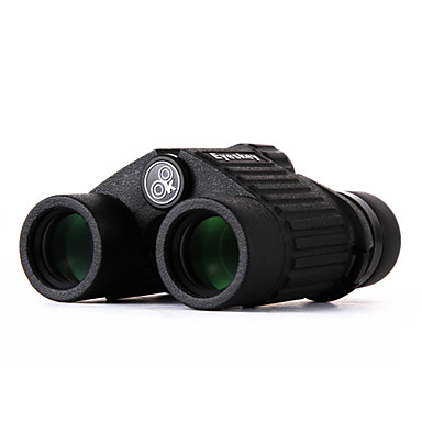 Eyeskey 10X25 mm Binóculos Alta Definição Impermeável Resistente às intempéries Genérico Prisma Roof Ângulo de visão largo Uso Genérico