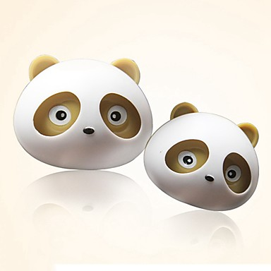abordables Accessoires Intérieur de Voiture-ziqiao 1 paire beau panda saveur sortie du diffuseur désodorisant de voiture fournitures magiques parfum