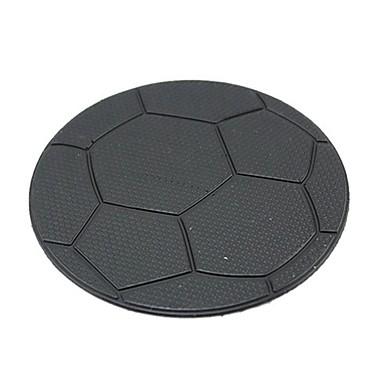 ziqiao arabanın gösterge paneli futbol desen yapışkan ped mat anti-kaymaz cep telefonu gps tutucu iç ürün aksesuarları
